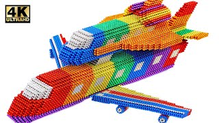 DIY - How To Make Shuttle Carrier Aircraft From Magnetic Balls (Satisf