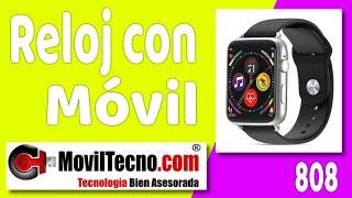 Relojes para enviar y recibir WhatsApp - MovilTecno.com