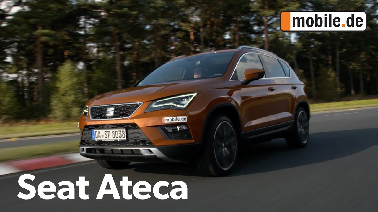 Auto-Test Seat Ateca 1. Generation (ab 2016) - mobile.de ...