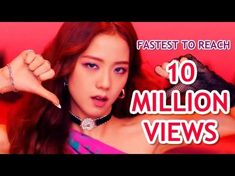 [TOP 15] FASTEST K-POP GROUP MV TO REACH 10 MILLION VIEWS