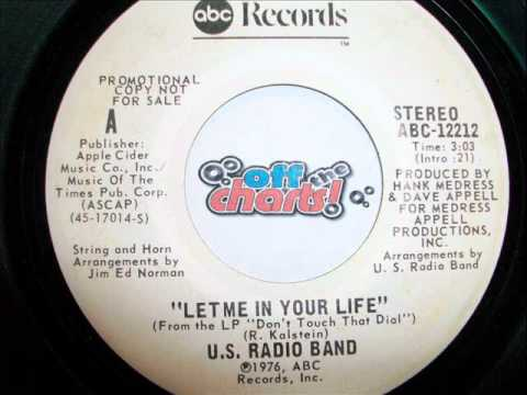 U.S. Radio Band - Let Me In Your Life ■ 45 RPM 1976 ■ OffTheCharts365
