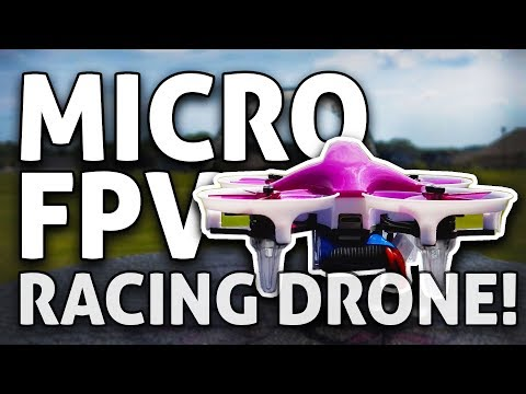 Super Affordable MICRO FPV RACING DRONE!! Dys Elf REVIEW + GIVEAWAY
