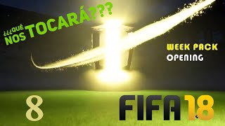 Directo FIFA 18 pack Opening semanal!