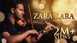 ZARA ZARA VIOLIN COVER | BINESH BABU Ft DREAM TRACK