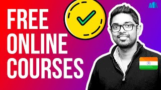 5 Free Online Digital Marketing Courses #OnlineCourses #DigitalMarketing