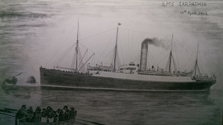 HOW TO DRAW... RMS CARPATHIA | 2017
