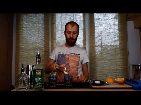 Как правильно пить абсент видео