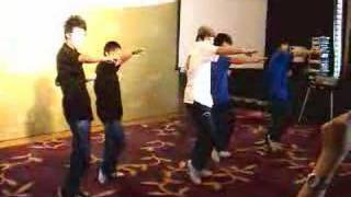M.A.D. Press Conference 武藝舞表演(Martial Art Dance performance)[Hip Hop]