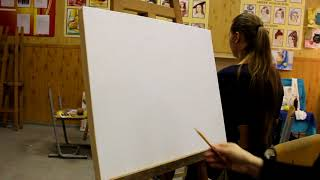 Мастер-класс по живописи. Натюрморт акварелью.