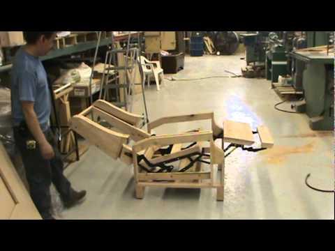diy sofa repair barrister velvet antique furniture llc custom recliner frame - youtube