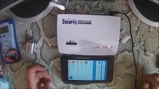 Китайская (Алиэкспресс) GSM беспроводная домашняя охранная система. Обзор, настройка