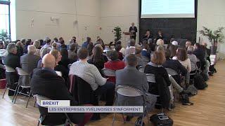 Yvelines | Brexit : les entreprises yvelinoises s'informent