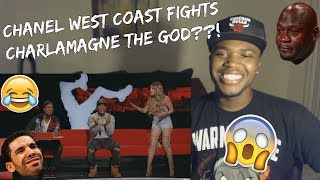 'Chanel West Coast Goes Off on Charlamagne Tha God' Official Clip-REACTION!