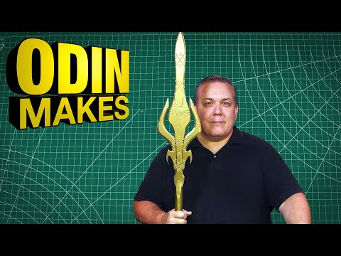 Odin Makes: Odin's Spear Gungnir As Seen In The Marvel Thor Movies