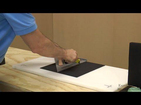 DIY - Holster & Sheath Making - Scoring/Breaking KYDEX® & HOLSTEX® Sheet