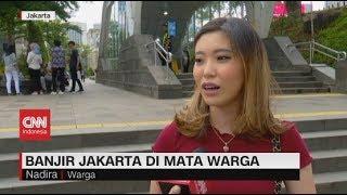 Banjir Jakarta di Mata Warga