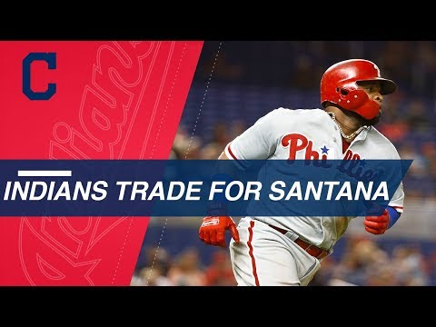 Indians acquire Carlos Santana from Mariners