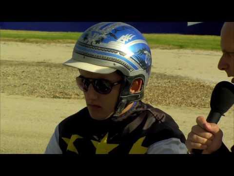 Melton 180217 Race 1   Zac Phillips on Highview Ruler winning the  DNR Logistics Pace