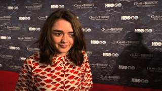 Game of Thrones Season 4: Maisie Williams on Why Arya Should #TakeTheThrone (HBO)