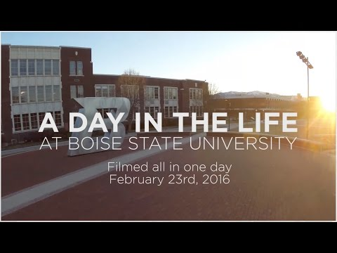 A Day in the Life at Boise State University