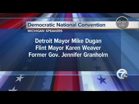 Mike Duggan, Jennifer Granholm and Karen Weaver to speak at Democratic National Convention