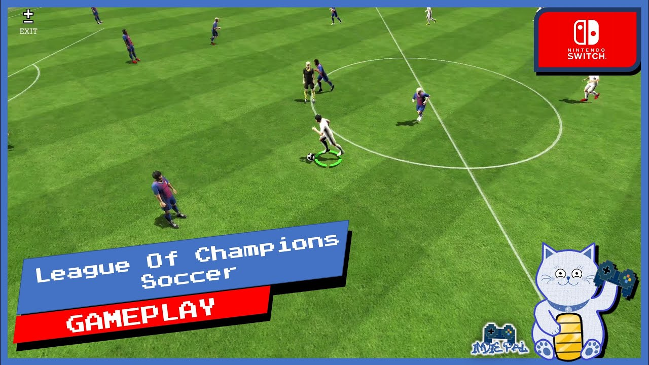 League Of Champions Soccer Switch Gameplay