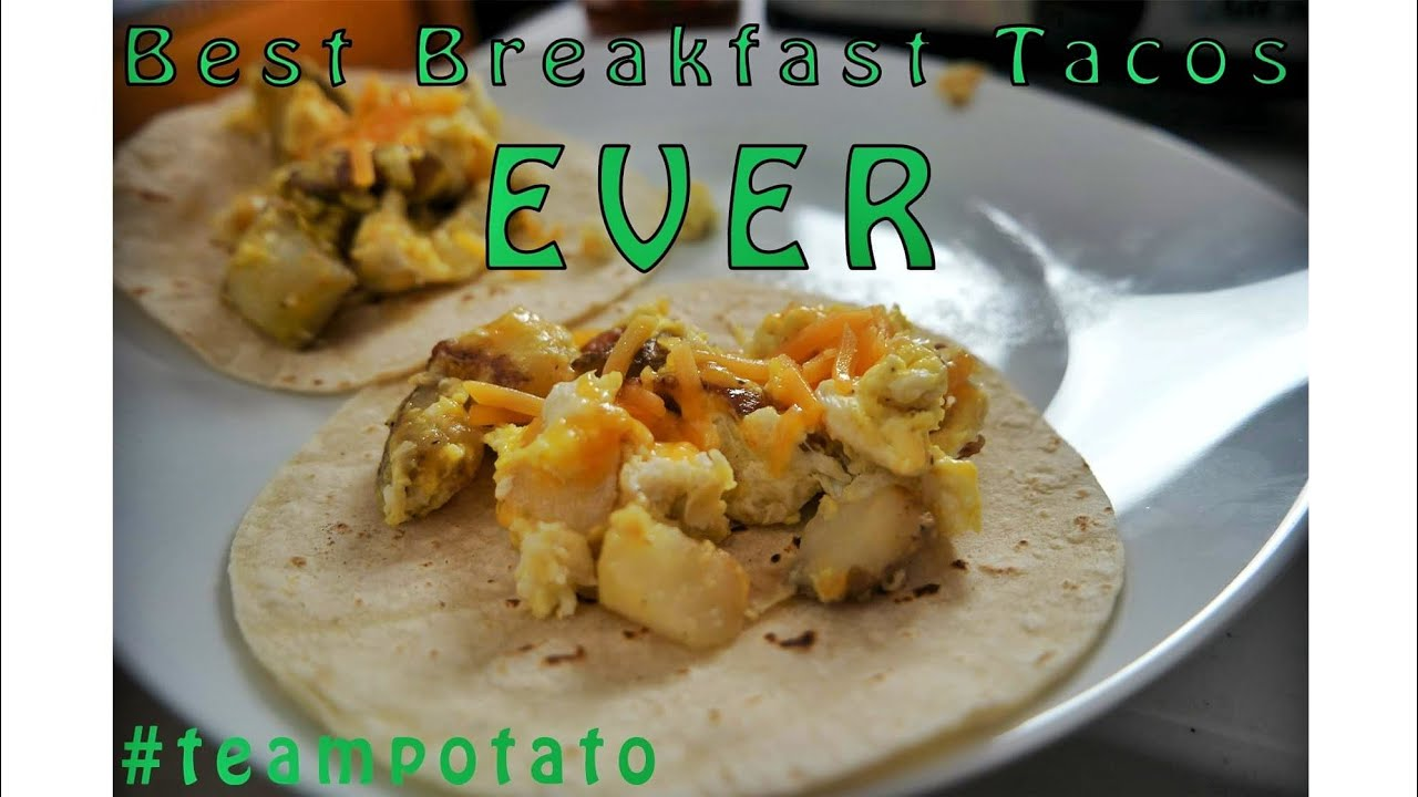 Easy Breakfast Taco Recipe Teampotato Sweepstakes