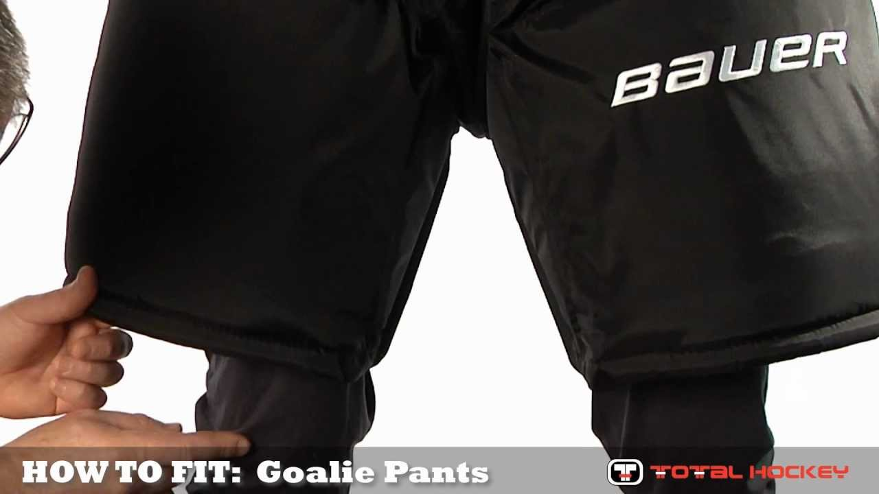7adf23ab1e6 How To Fit Goalie Equipment  Goalie Pants - YouTube