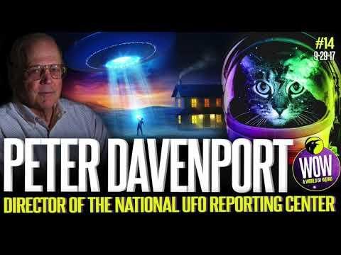 Peter Davenport, Director of the National UFO Reporting Center. A World Of Weird #14