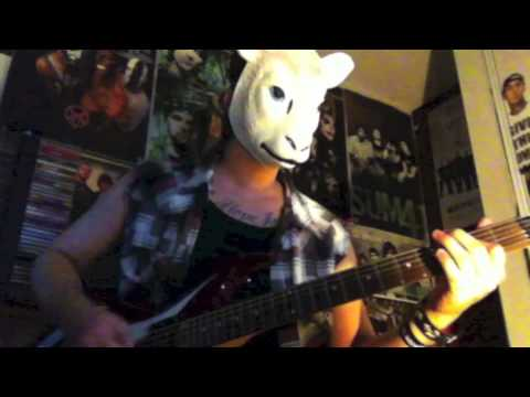 "The Wyatt Family ""Live In Fear"" WWE theme guitar cover"