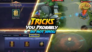 Have You Noticed These 6 Unseen Secrets Of Mobile Legends ? | Mobile Legends Bang Bang