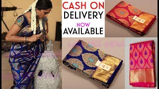 #1000 Unboxing silk Saree - New stock Bridal Kanchipuram silk saree at best price