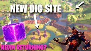Fortnite Cube Dig Site, Ruin Skin, Loot Lake Bunker & Kevin Returning? (Fortnite Battle Royale)