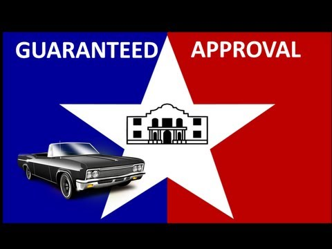 San Antonio, TX Automobile Financing : Bad Credit Car Loans for No Money Down @ Guaranteed Low Rates