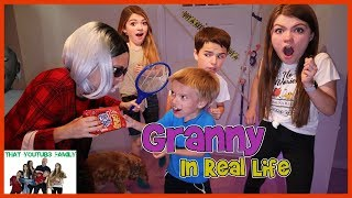 Granny Game In Real Life That YouTub3 Family