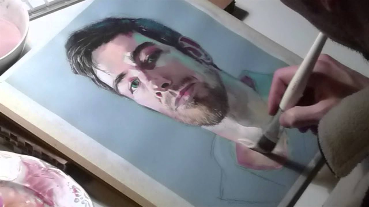 how to use gouache with watercolor