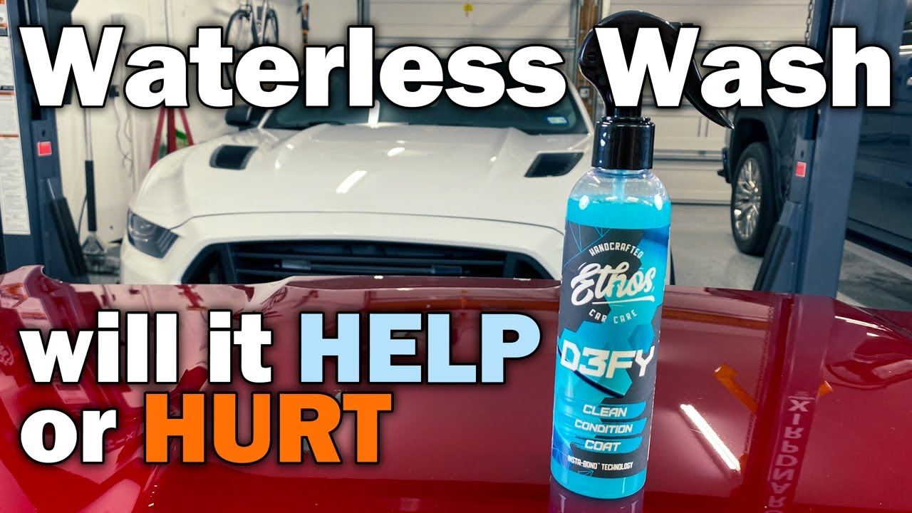 Ethos DEFY - Waterless wash as a topper, visual appeal, durability and slickness tested!