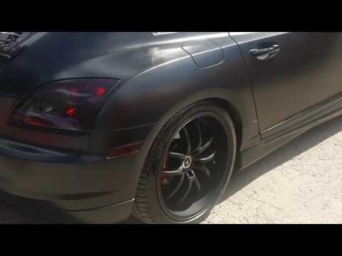 """Exhaust cutout switch kit with Magnaflow- v6 Chrysler Crossfire 3"""" pipe"""