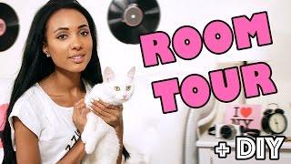 mini ROOM TOUR + DIY ♡ Украшаю комнату