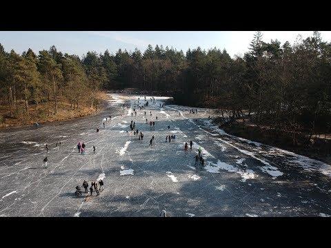 Dutch Natural Ice Skating Amersfoort March 2018