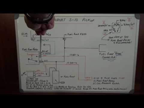 [DIAGRAM_38ZD]  91 Chevy S-10 How Fuel Pump Relay & Oil Sender unit works! - YouTube | 1999 S10 Fuel Pump Wiring Diagram |  | YouTube