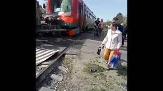 Авария на переезде Красная деревня Невинномысск(2)