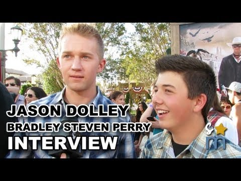 "Jason Dolley & Bradley Steven Perry On ""Good Luck Charlie"" Ending"