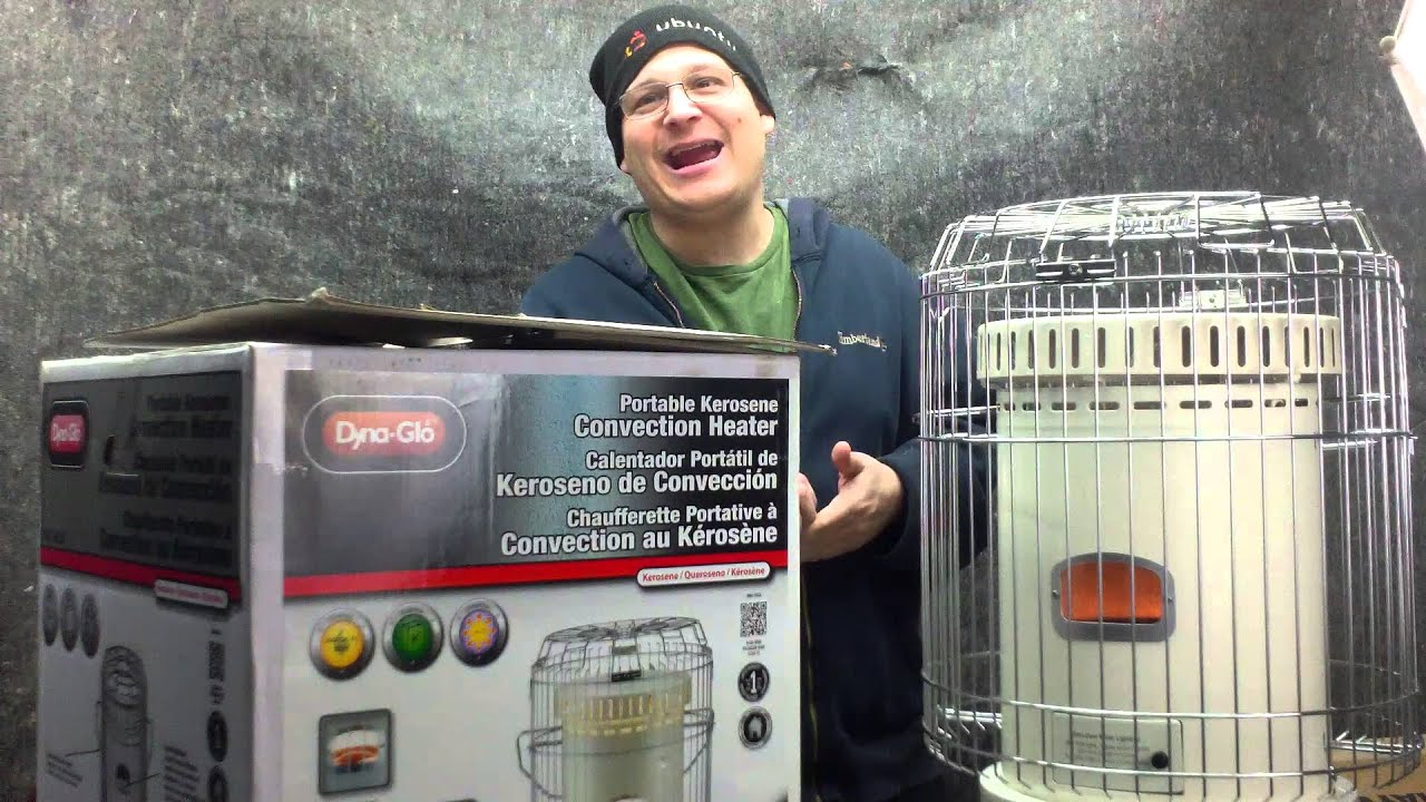 Dyna glo 23 000 BTU Portable Kerosene Convection Heater Review ...