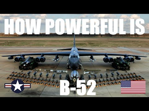 FACTS ABOUT B-52 BOMBER JET AIRCRAFT (HD)