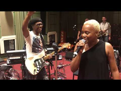 """Nile Rodgers & CHIC """"We Are Family, Soup for One, & Like a Virgin"""