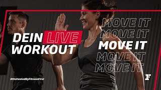 Fitness First Live Workout - Move It mit Amir