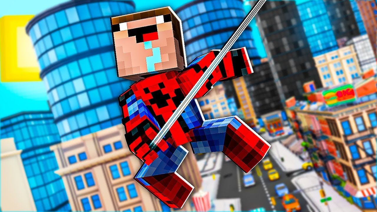 Minecraft NOOB vs PRO: HOW NOOB BECAME SPIDER-MAN AND GOT SUPER POWER! 100% TROLLING SUPERHERO