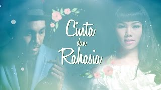 Gambar cover Yura Yunita ft. Glenn Fredly - Cinta dan Rahasia ( Official Lyrics Video)