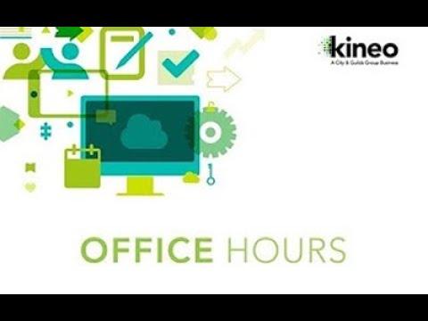 Kineo Totara Office Hours - Awesome Block